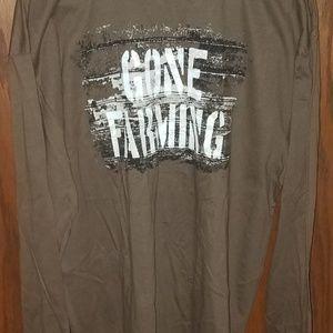 Other - John Deere 'Gone Farming long sleeve shirt